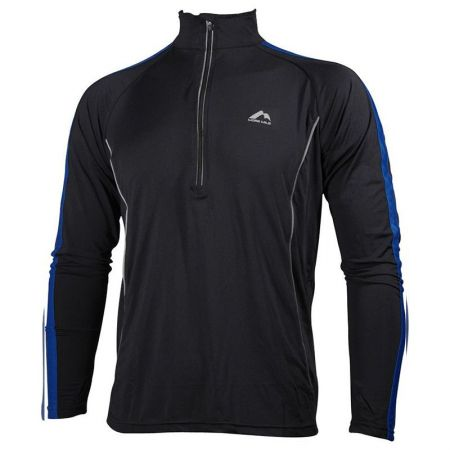 Мъжка Блуза MORE MILEHi-Viz Half-Zip Mens Long Sleeve Running Top 508361  MM2028