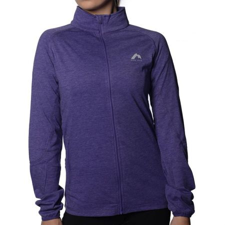 Дамски Суичър MORE MILE Marl Full Zip Long Sleeve Ladies Running Top 508662 MM2125