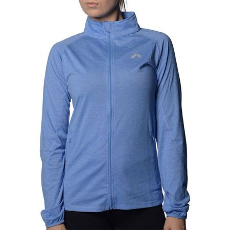 Дамски Суичър MORE MILE Marl Full Zip Long Sleeve Ladies Running Top 508663 MM2126