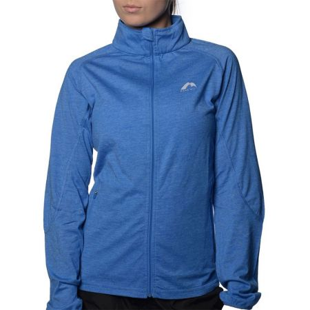 Дамски Суичър MORE MILE Marl Full Zip Long Sleeve Ladies Running Top 508664 MM2127