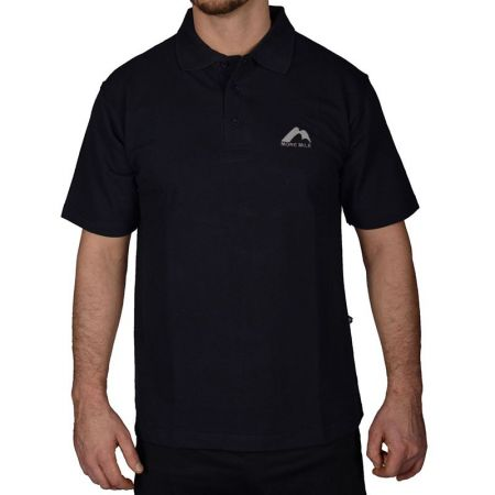 Мъжка Тениска MORE MILE Short Sleeve Mens Polo Shirt 508523  MMSSPOLOMBLK
