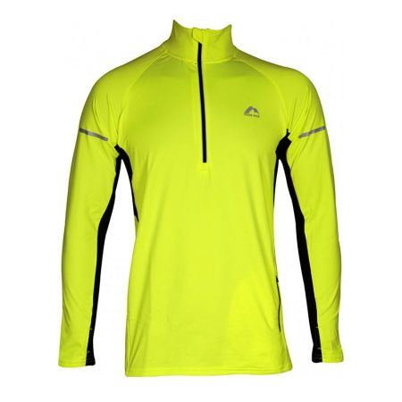 Мъжка Блуза MORE MILE Alaska Thermal Hi-Viz Mens Running Top 512961