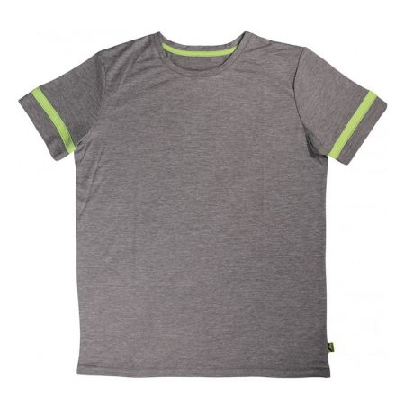Детска Тениска MORE MILE Marl Boys Short Sleeve Running Top 512969 MM3009