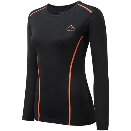 Дамска Термо Блуза MORE MILE Compression Ladies Long Sleeve Top 510812 MM2749