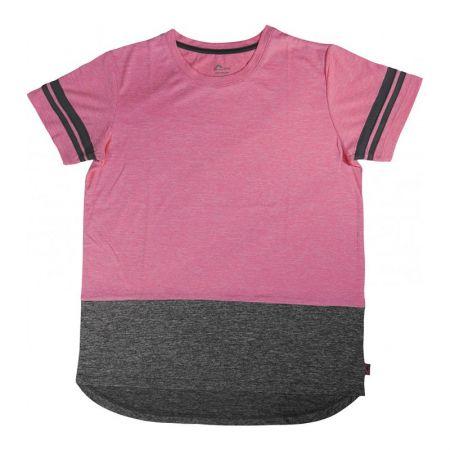 Детска Тениска MORE MILE Marl Girls Short Sleeve Running Top 512980