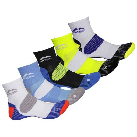 Комплект Дамски Чорапи MORE MILE London Mens Running Socks - 5 Pack 509053 MM2342