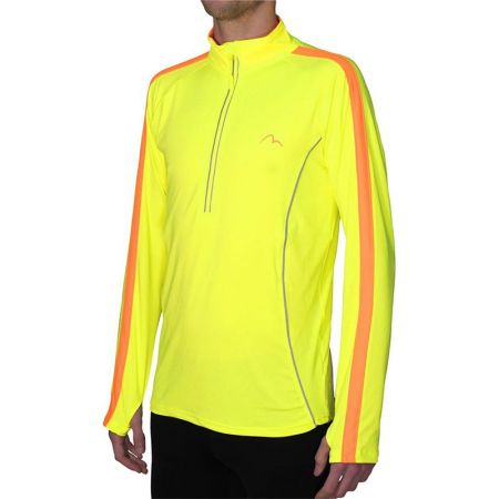 Мъжка Блуза За Бягане MORE MILE Lumino 1/4 Zip Long Sleeve Mens Running Top 508249 MM2420