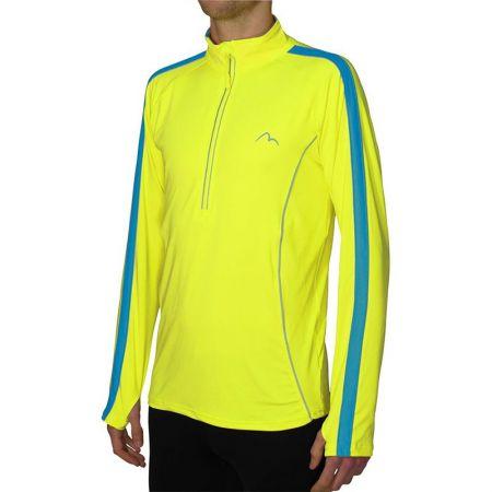Мъжка Блуза За Бягане MORE MILE Lumino 1/4 Zip Long Sleeve Mens Running Top 508248  MM2422
