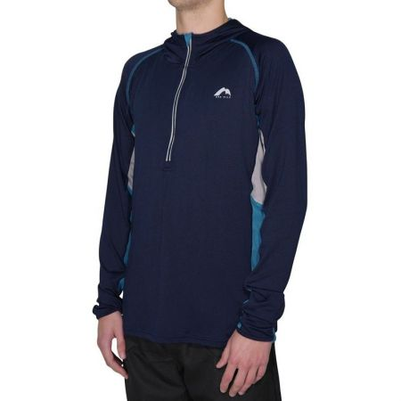 Мъжка Блуза MORE MILE More-Tech Half-Zip Mens Running Hoody 508346  MM1915