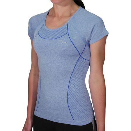 Дамска Тениска MORE MILE Seamless Lite Short Sleeve Ladies Running Top 508573 MM2486