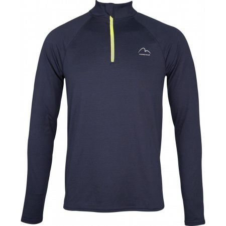 Мъжка Блуза MORE MILE Mens Long Sleeve Half Zip Running Top 511235