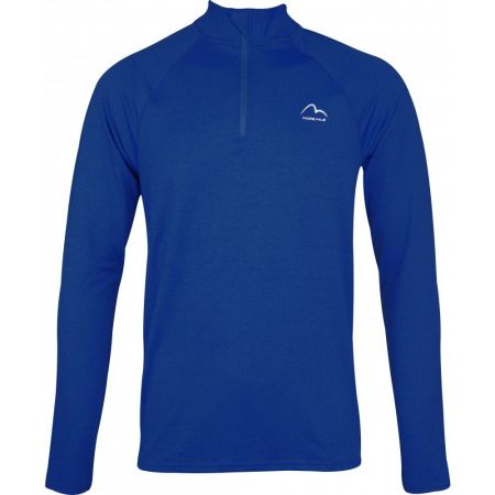 Мъжка Блуза MORE MILE Mens Long Sleeve Half Zip Running Top