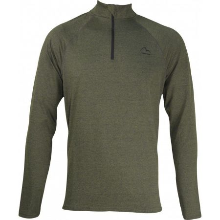 Мъжка Блуза MORE MILE Mens Long Sleeve Half Zip Running Top 511233 MM2801