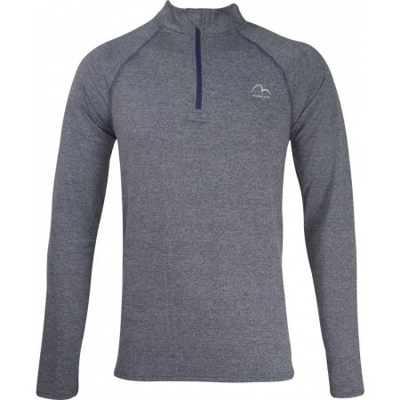 Мъжка Блуза MORE MILE Mens Long Sleeve Half Zip Running Top 511236 MM2799