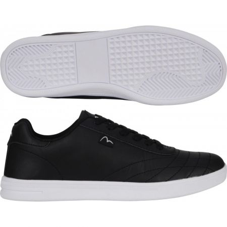 Мъжки Кецове MORE MILE Vibe Classic Leather Trainers 510774 MM2765-Vibe изображение 3