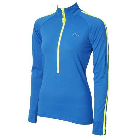 Дамска Блуза MORE MILE Hi Viz Half Zip Ladies Running Top 509395