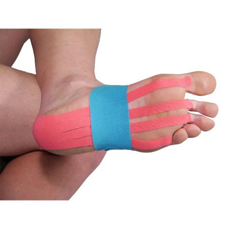 Кинезио Лента MORE MILE Pre-Cut Foot Support Kinesiology Tape  508976 MM1819
