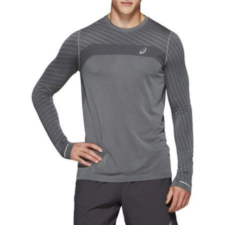 Мъжка Блуза ASICS Seamless LS Texture 520270 2011A602-020