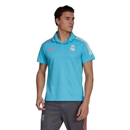 Мъжка Тениска Реал Мадрид ADIDAS Real Madrid Polo Shirt 519453 FQ7859-K