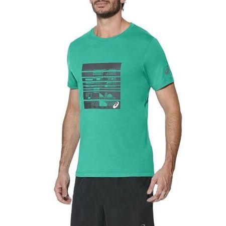 Мъжка Тениска ASICS Graphic SS Top 520100 141265-5007