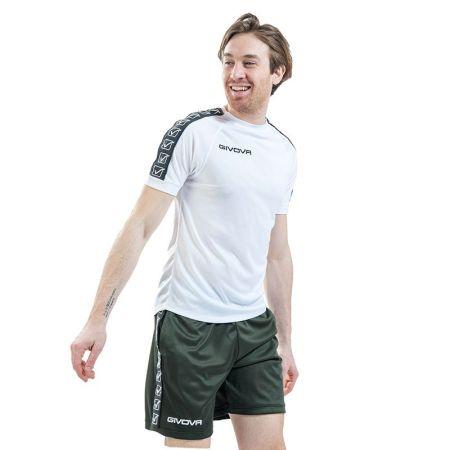 Мъжка Тениска GIVOVA T-Shirt Cotton Band 0003 514599 BA01