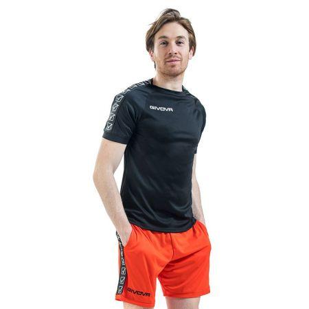 Мъжка Тениска GIVOVA T-Shirt Poly Band 0010 514585 BA02