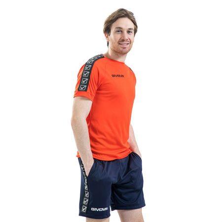 Мъжка Тениска GIVOVA T-Shirt Poly Band 0001 514583 BA02