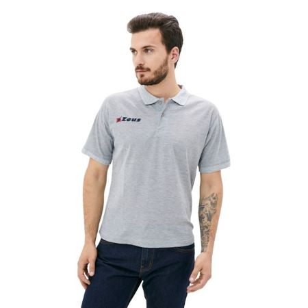 Мъжка Тениска ZEUS Polo Basic Grigio 506660 Polo Basic