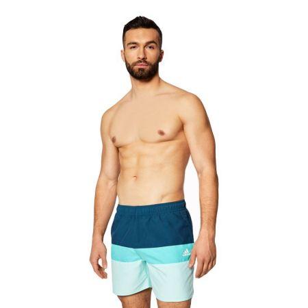 Мъжки Бански ADIDAS Length Colorblock Swim Shorts 519763 GM2215-B
