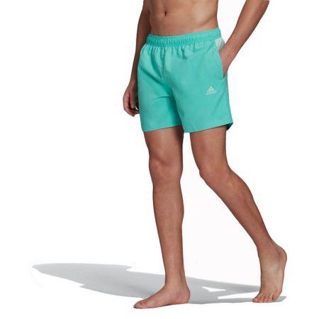 Мъжки Бански ADIDAS Short-Length Colorblock 3-Stripes Swim Shorts 519762 GM2244-B