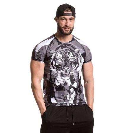 Мъжки Рашгард EXCESSWEAR Rashguard Tiger Gray 518534