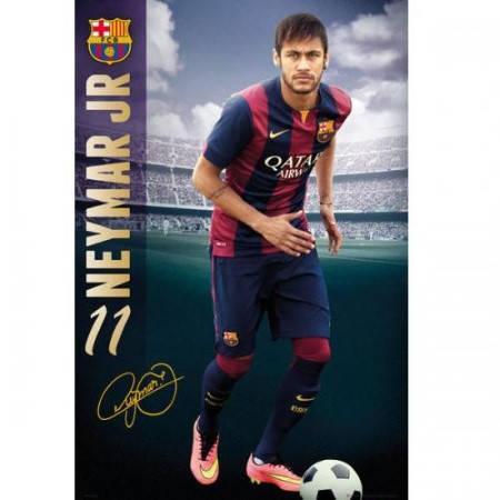 Плакат BARCELONA Poster Neymar 15 501187 b20posba15