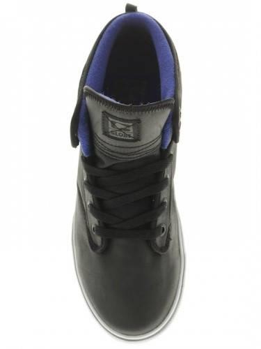 Мъжки Кецове GLOBE Motley Mid S13 100628a 30302400287 - BLACK/ELECTRIC BLUE изображение 8