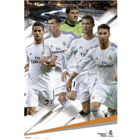Плакат REAL MADRID Poster Players 500973