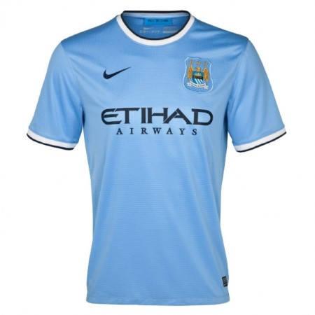 Официална Фланелка Манчестър Сити MANCHESTER CITY Mens Home Shirt 13-14 500885