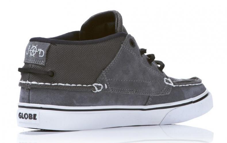 Мъжки Обувки GLOBE The Bender W11 100330 30302400239 30302400231 - CHARCOAL/WHITE/BLAC изображение 2