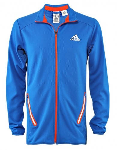 Мъжко Яке ADIDAS Mens Barricade Tennis Warm Up Jacket 100640  изображение 2
