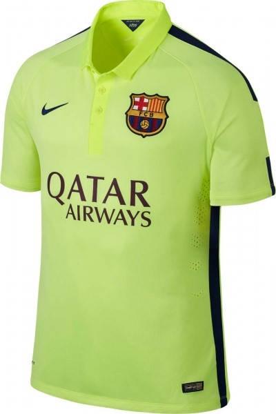 Официална Фланелка Барселона BARCELONA Mens Third Shirt 14-15 501072b