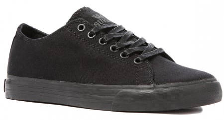 Мъжки Обувки SUPRA Thunder Low Black Canvas 101125
