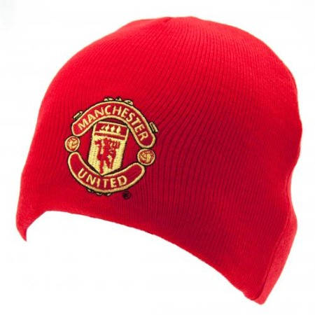 Зимна Шапка MANCHESTER UNITED Knitted Hat RD 500869a 3591