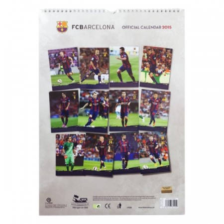 Календар BARCELONA Calendar 2015 501186  изображение 2