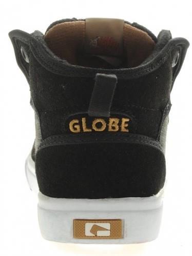 Детски Кецове GLOBE Motley Mid Kids S13 300243 30302400273 - BLACK/TAN изображение 6