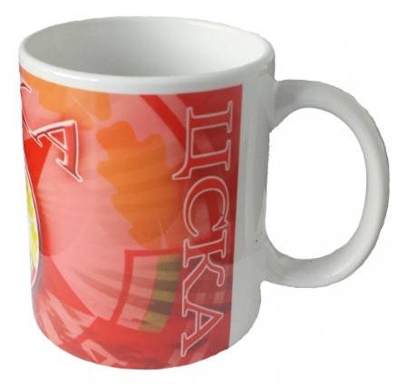 Чаша CSKA Ceramic Mug Hristo Stoichkov 8 500717a  изображение 3