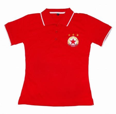 Дамска Тениска CSKA Polo Shirt 500627