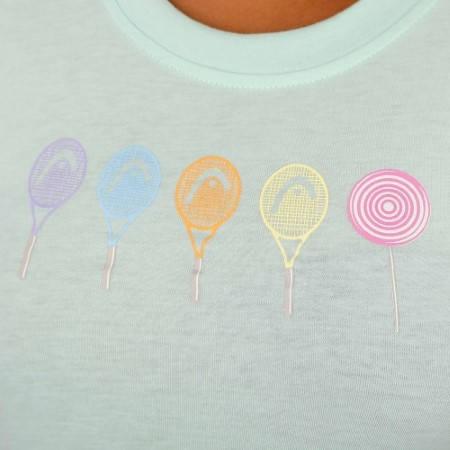 Дамска Тениска HEAD Drift T-Shirt SS14 200563 DRIFT T-SHIRT 814204 -WHPK изображение 8