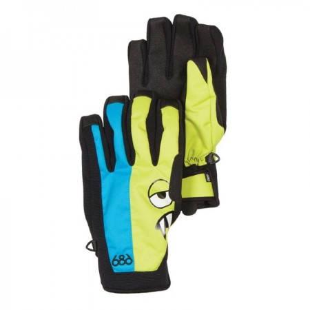 Ски/Сноуборд Ръкавици 686 Snaggleface II Pipe Glove W13 401409a 30307100283-BLUEBIRD