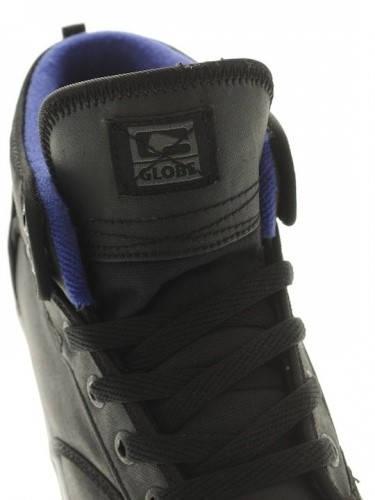 Мъжки Кецове GLOBE Motley Mid S13 100628a 30302400287 - BLACK/ELECTRIC BLUE изображение 5