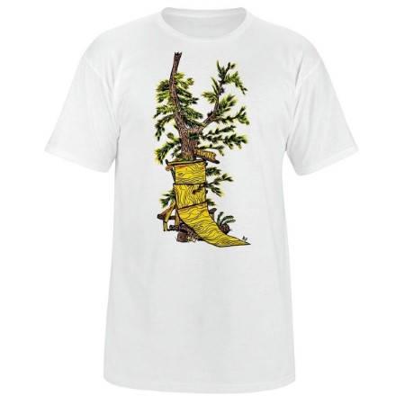 Мъжка Тениска DAKINE Ride Anything SS14 101028a 30308700716-WHITE