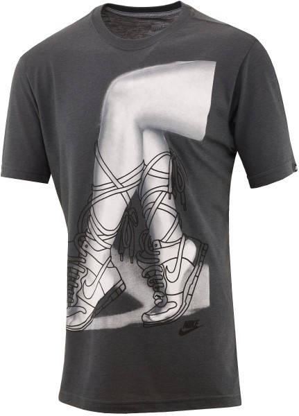Мъжка Тениска NIKE Footwork Tee 100722a 589789-060