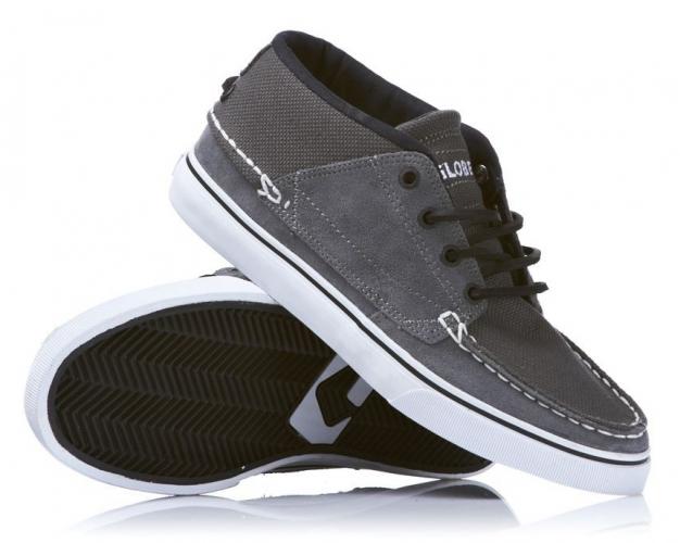 Мъжки Обувки GLOBE The Bender W11 100330 30302400239 30302400231 - CHARCOAL/WHITE/BLAC изображение 3